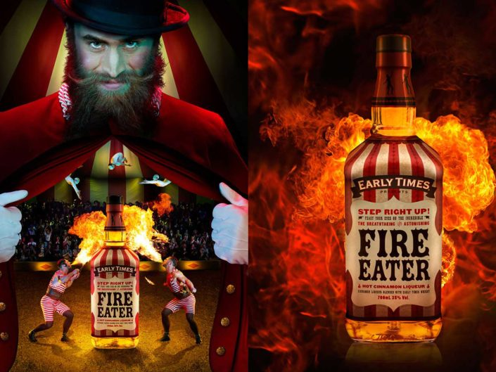 Early Times Fire Eater Whiskey