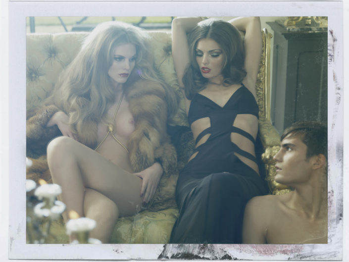 agent provocateur Polaroid 1 tim bret day website print sales