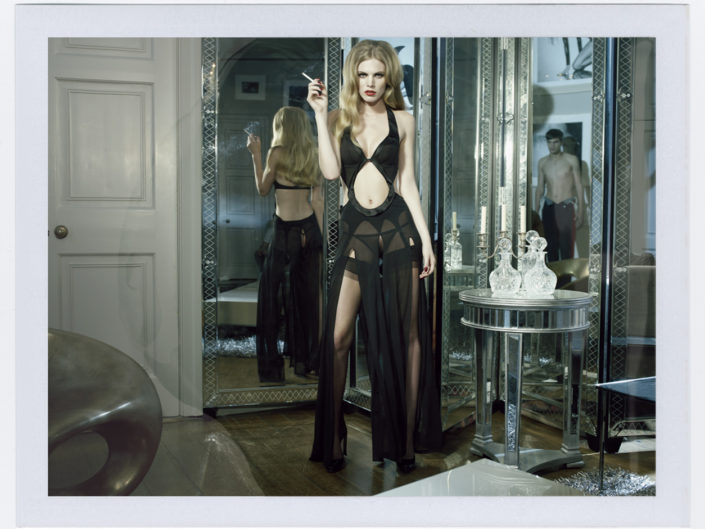 agent provocateur Polaroid 2 tim bret day website print sales