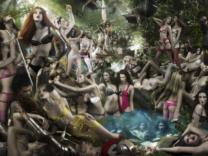 agent provocateur mermaids tim bret day website print sales